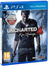 Uncharted 4: Kres Złodzieja (A Thief's End) (Gra PS4)