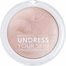 MUA Undress your skin SHIMMER HIGHLIGHTER  rozświetlacz do twarzy Pink Shimmer 7,5g