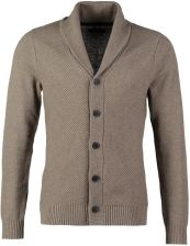 Selected Homme BATES SHAWL NECK CARDIGAN Kardigan beżowy