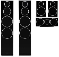 WHARFEDALE DIAMOND 250 5.0 SET czarny