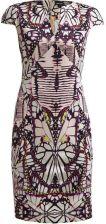 Just Cavalli Sukienka z dżerseju rosa/lila/weiss