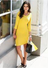 Sukienka żółty narcyz