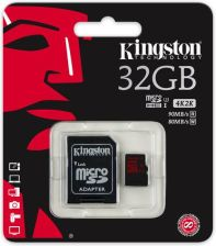 Kingston microSDHC 32GB Class 3 UHS-I (SDCA3/32GB)