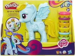 Hasbro Play-Doh Salon Fryzjerski Rainbow Dash B0011