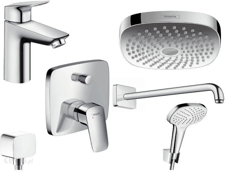 Relativ Zestaw prysznicowy Hansgrohe Premium Plus Logis 100 52054377  YE22