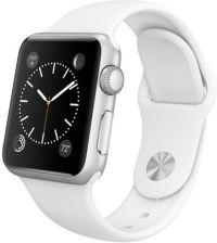 Apple Watch Sport 38mm Aluminium Srebrne / Biały