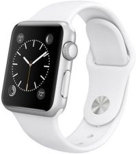 Apple Watch Sport 42mm Aluminium Srebrne / Biały