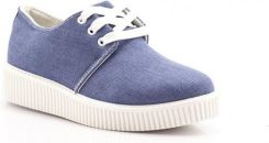 Jeansowe Creepersy Jeans Creepers Laura
