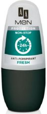 Aa Men Protection Non-Stop Anti-Perspirant Fresh M Dst Roll-On Antyperspirant 50ml - zdjęcie 1