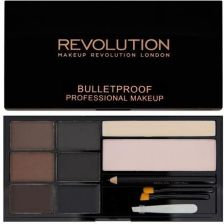Makeup Revolution Ultra Brow Paleta Do Brwi Dark
