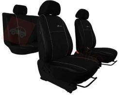 POK-TER Pokrowce samochodowe EXCLUSIVE - Skórzane Czarne Hyundai Elantra V od 2010 - Czarny