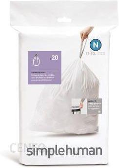 Simple Human N Worki Do Śmieci 45 L 20 Szt. - zdjęcie 1