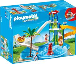 Playmobil Summer Fun Aquapark ze zjeżdżalnią (6669)