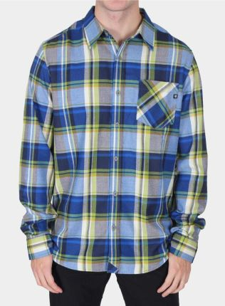 Marmot Doheny Flannel Ls - Mountain Blue