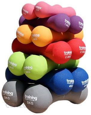 Training Show Room Hantle Fitness Premium 2X 5Kg (Szary)