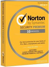 Symantec Norton Security Premium 3.0 10U 1Rok ESD (21357216)