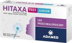 Hitaxa fast junior 10 tabletek