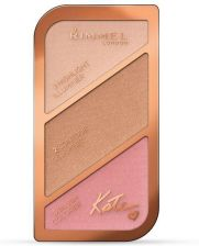 Rimmel Kate Sculpting Kit paleta do konturowania twarzy 002 Coral Glow 18,5g