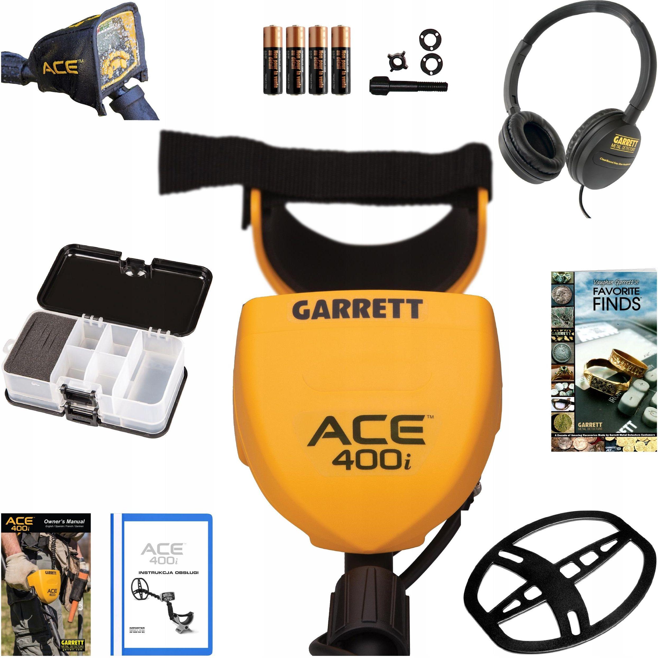 Купить металлоискатель garrett ace металла 400i ace400i с до.