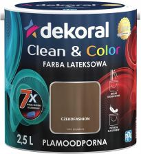 Dekoral Clean&Color Farba Lateksowa Czekofashion 2,5L
