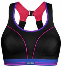 Ab Ovo Stanik Sportowy Shock Absorber Ultimate Run Bra Black/Neon (S5044Bn)
