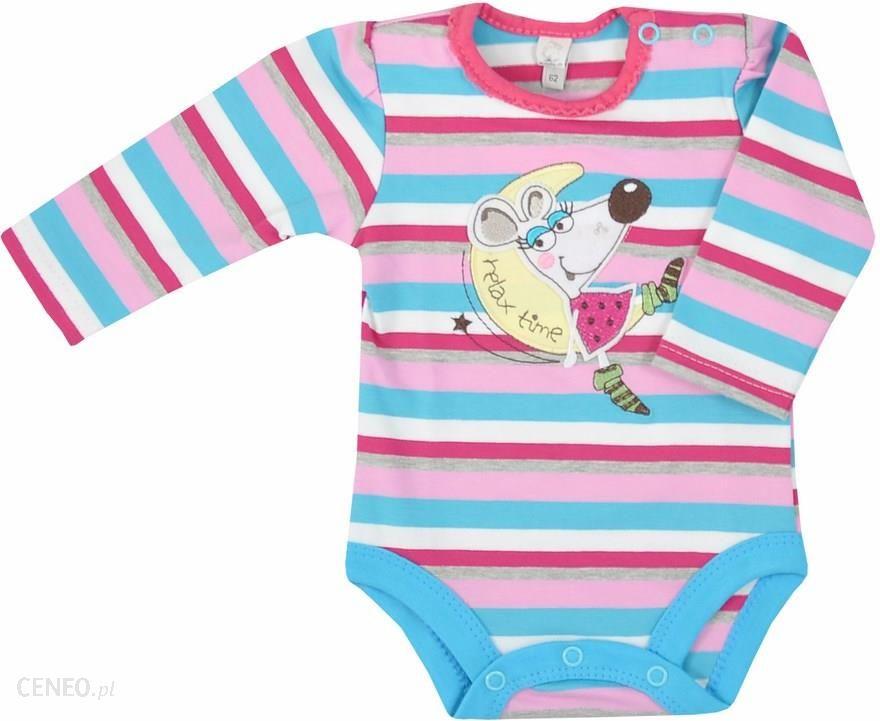 f49256c2cedf66 Body niemowlęce z długim rękawkiem Lala r. 62-98 - Ceny i opinie ...