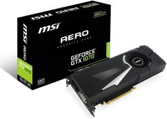 MSI GeForce GTX 1070 Aero OC 8GB (GEFORCEGTX1070AERO8GOC)