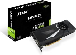 MSI GeForce GTX 1080 Aero 8GB OC (GEFORCEGTX1080AERO8GOC)