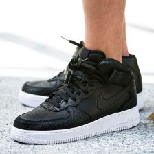 lowest price 215a3 93458 Nike Air Force 1 Mid Meskie Czarne