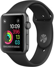 Apple Watch Series 1 42mm Szary/Czarny (MP032MPA)