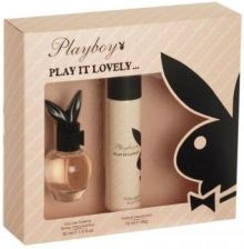 Playboy Play It Lovely Woda Toaletowa 30ml + Dezodorant 75ml
