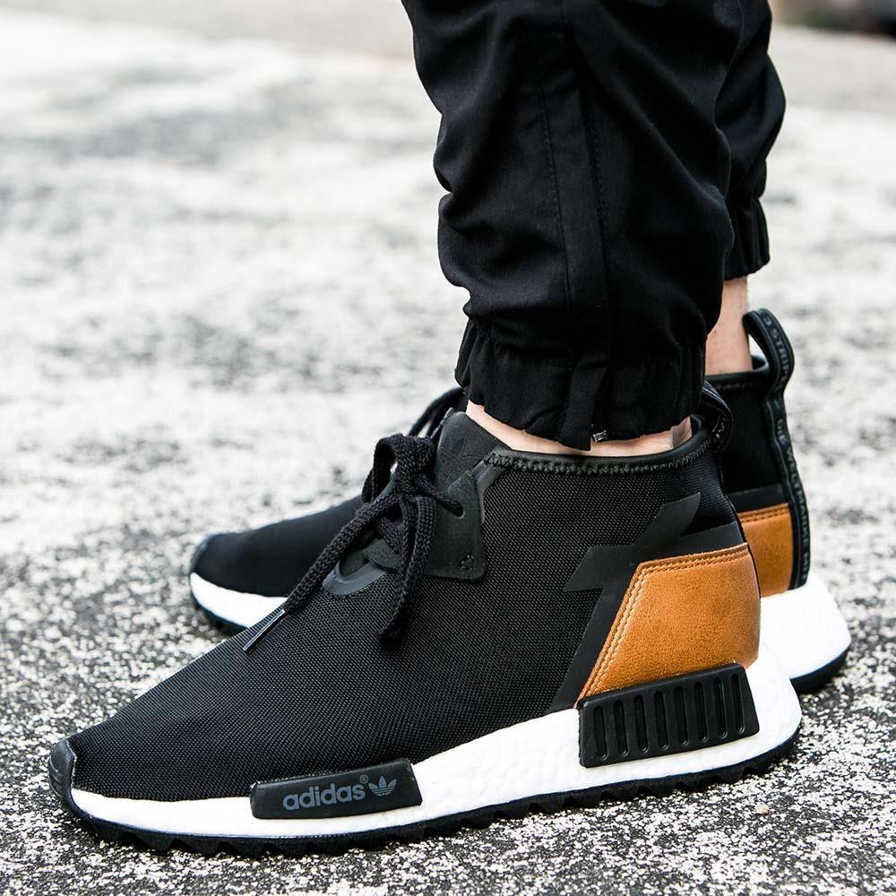 free shipping b82b1 1cc8a Porter x adidas NMD C1  Core Black  The Sneaker Drop