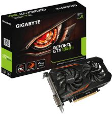 Gigabyte GeForce GTX 1050 Ti OC 4GB (GVN105TOC4GD)