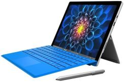 Microsoft Surface Pro 4 256GB Wi-Fi Srebrny + Type Cover Czarny (CR3-00004)
