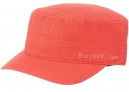 Czapka Damska The North Face LOGO MILITARY HAT Fiery Red