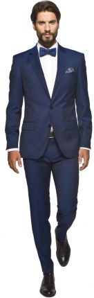garnitur wintel 311 granatowy slim fit 188 100 90
