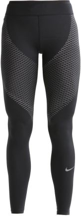 Nike Performance Legginsy black/tumbled grey