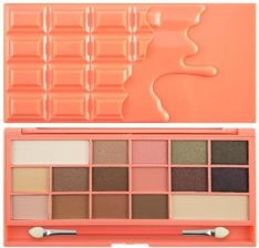 Makeup Revolution Paleta Cieni Chocolate And Peaches