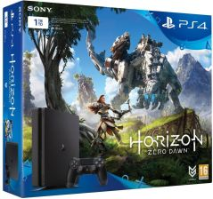 Sony PlayStation 4 Slim 1TB + Horizon: Zero Dawn