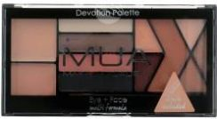 MUA Multi-Formula Eyeshadow Palette paleta 12 cieni do powiek Devotion 13,6g