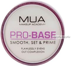 MUA Pro-Base Smooth Set & Prime baza od makijaż 7,2g