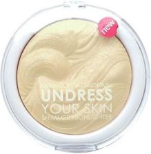 MUA Undress Your Skin Shimmer Highlighter rozświetlacz do twarzy Iridescent Gold 7,5g