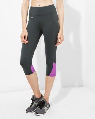 UNDER ARMOUR LEGGINGS FLY BY RUN CAPRI