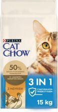 Cat Chow 3in1 Indyk 15kg