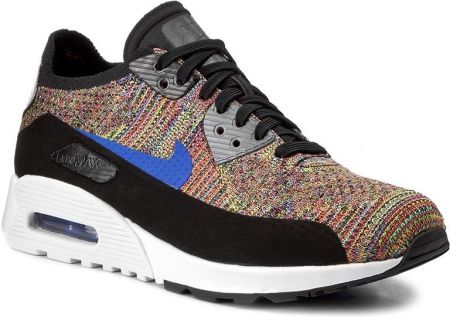 Buty NIKE - W Air Max 90 Ultra 2.0 Flyknit 881109 001 Black/Medium Blue/Cool Grey