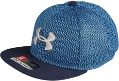 Under Armour TWISTKNIT Czapka z daszkiem mako blue