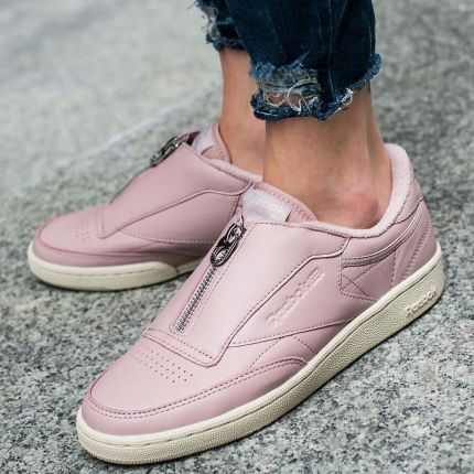 "Buty Reebok Club C 85 Zip ""Shell Pink"" (BS6606)"