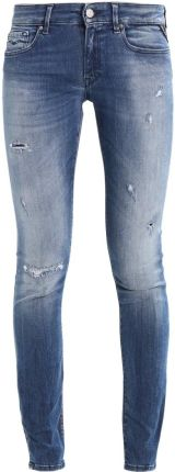 Replay LUZ Jeansy Slim fit destroyed denim