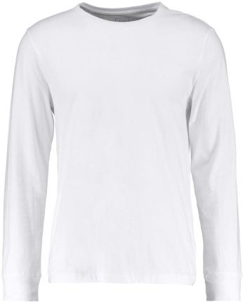 GAP ESSENTIAL CREW UPDATE Bluzka z długim rękawem optic white