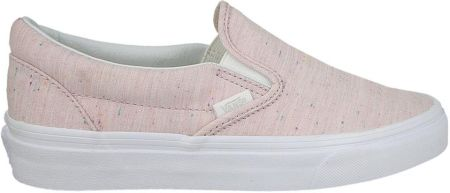 vans classic slip on rosa